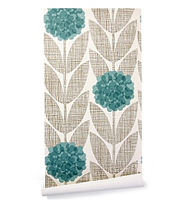 Anthropologie - :  wallpaper orla kiely floral retro
