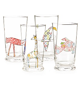 Anthropologie - Glass Menagerie Cups :  glasswear glassware animals glass