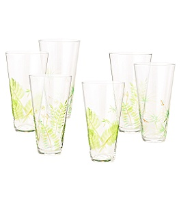 Anthropologie - :  ferns glasses cycad