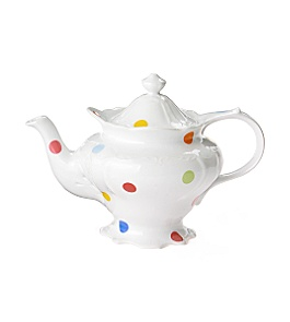 Anthropologie - :  teapot porcelain pokadots anthropologie