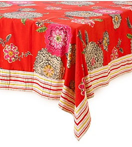 Anthropologie - :  tablecloth dahlias