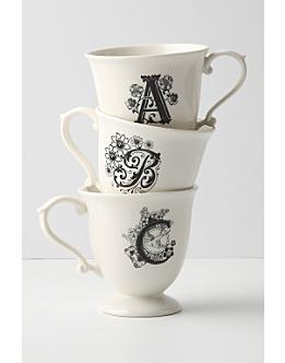 Monogrammed Mug, Missus - Anthropologie.com :  coffee cups holiday gifts