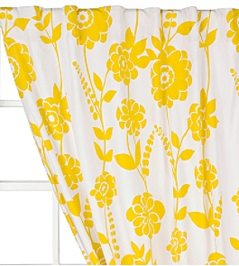Anthropologie -  :  anthropologie curtains gold pattern