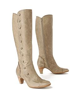Scalloped Spat Boots - Anthropologie.com