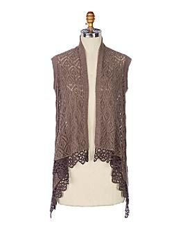 Withering Frost Vest - Anthropologie.com :  shawl fashion accessory clothing
