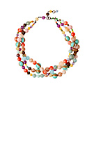 Anthropologie.com > Jewelry > Necklaces :  marbles venetian glass accessories necklaces