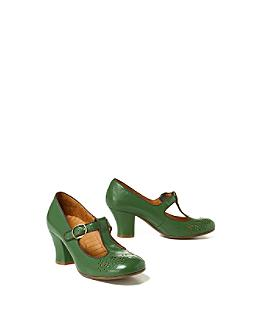 Absinthe Heels - Anthropologie.com :  buckle anthropologie retro heels