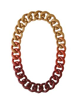 Anthropologie.com > Grand Link Necklace :  necklace womens fall 2008 gold