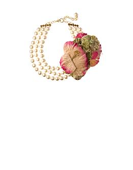 Boutonniere Necklace - Anthropologie.com