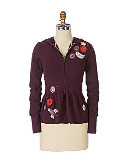 Magic Birdseed Hoodie - Anthropologie.com :  fashion birdie top hoodie