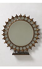 Standing Medallion Mirror :  mirror home accessories anthropologie