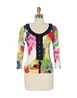 Alley-Of-Imagination Cardigan - Anthropologie.com :  tops fashion clothing womens