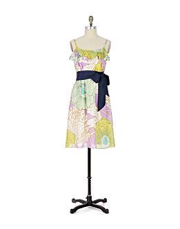 Aqueous Grove Slip Dress-Anthropologie.com