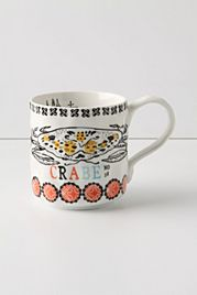 Sea Spray Mug, Crab