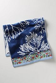 Tree Coral Hand Towel