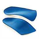 Powerstep Slim Tech Men's / Women's 3/4 Insole, Pair - 10447