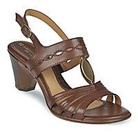 Auburn T-Strap Sandals