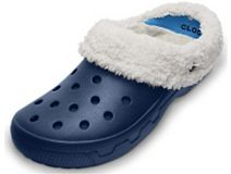 Crocs Mammoth EVA Clog Navy/Oatmeal