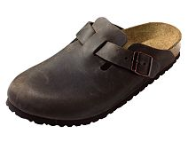 Birkenstock Boston Antique Peat Nubuck