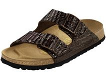 Papillio Arizona Braided Brown Tooled Leather
