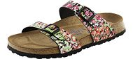 Papillio Sydney Springflower Black Birkoflor with Soft Footbed