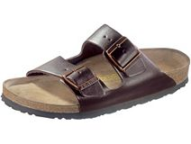 Birkenstock Arizona Hunter Brown Leather with Soft Footbed