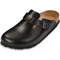 Birkenstock Boston Hunter Black Leather