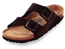 Birkenstock Arizona Mocha Suede with Soft Footbed