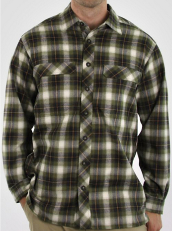 Men's Trailing Off™ Macro Long-Sleeve Shirt