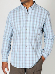 Men's Dryfly Flex™ Midi Plaid Long-Sleeve Shirt