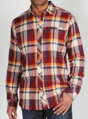 Men's Pocatello™ Macro Plaid Long-Sleeve Shirt