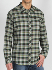 Men's Pocatello™ Micro Plaid Long-Sleeve Shirt