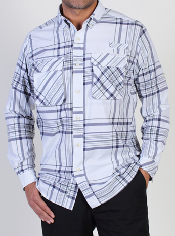 Men's Crosswind™ Macro Plaid L/S