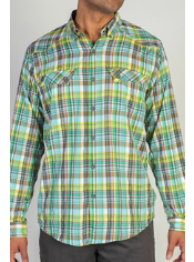 Men's Minimo™ Plaid Long Sleeve Shirt