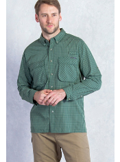 Men's Air Strip™ Micro Plaid Long Sleeve Shirt