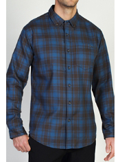 Men's Kegon™ Flannel Long Sleeve Shirt