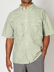 Men's Air Strip™ Micro Plaid Short-Sleeve Shirt