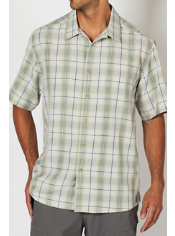 Men's Pisco™ Macro Plaid Short-Sleeve Shirt