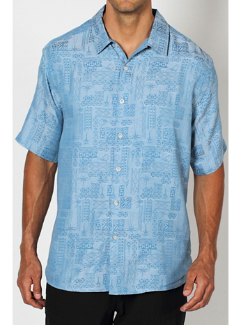 Men's Pisco™ Jacquard Short-Sleeve Shirt