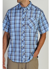 Men's Trip'r™ Plaid Short Sleeve Shirt