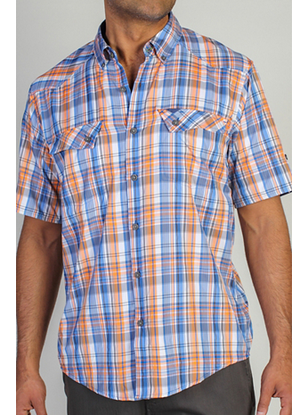 Men's Minimo™ Plaid Short Sleeve Shirt