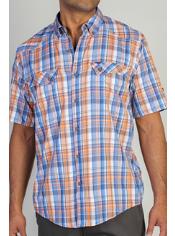 Men's Minimo™ Plaid Short Sleeve Shirt