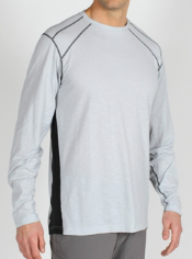 Men's ExO Dri Carbonite™ Long-Sleeve Crew Tee