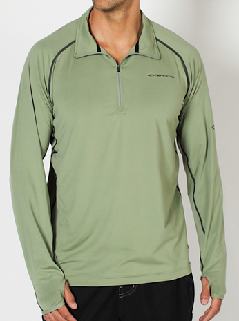 Men's Sol Cool™ 1/4 Zip Long-Sleeve Shirt