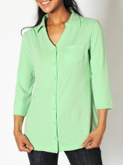 Women's Go-To® 3/4 Sleeve Shirtigan