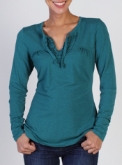 Women's Go-To® Ruffled Top