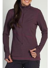 Women's Mokha™ Long Sleeve 1/2 Zip Shirt