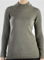 Women's Senora Angora™ Long-Sleeve Mock Neck Sweater