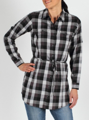 Women's Pocatello™ Plaid Tunic