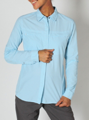Women's BugsAway® Halo™ Check Long-Sleeve Shirt